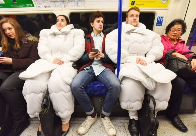 Londoners! Now You Can Commute To Work Whilst Still Wearing Your Duvet