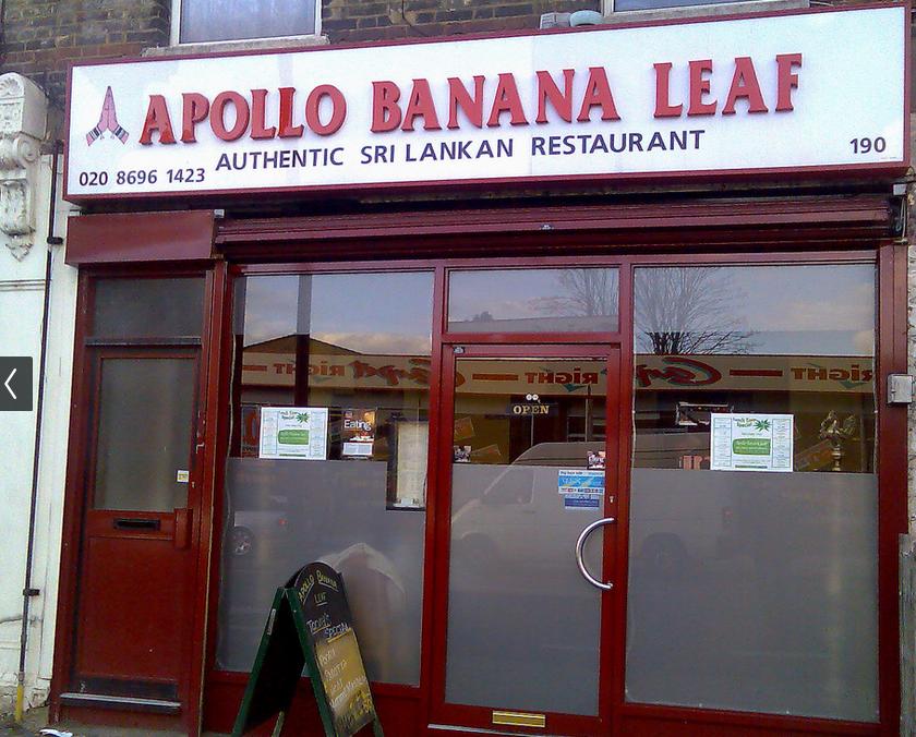 apollo banana leaf